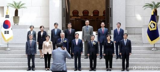 [사진]신임 대법관 취임식