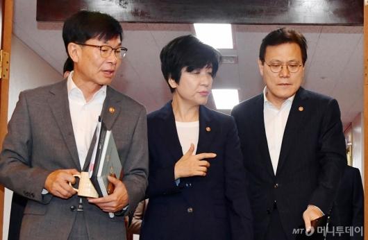 [사진]이야기하는 김상조-김영주-최종구
