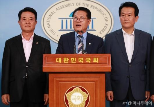 [사진]당대표 출마 선언하는 정운천 바른미래당 의원