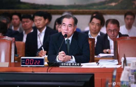 [사진]이개호 농림부 장관 후보 인사청문회