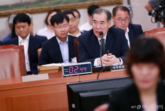 [사진]인사청문회 출석한 이개호 농림부 장관 후보자
