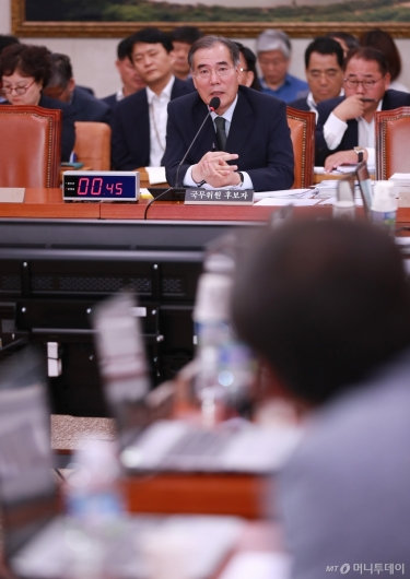 [사진]이개호 농림부 장관 후보자 인사청문회