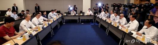 [사진]정부부처-기업-전문가와 만난 김동연 부총리