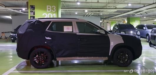 [사진]기아차 SP 양산형 차량 포착
