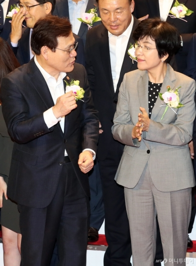 [사진]이야기하는 최종구-김영주