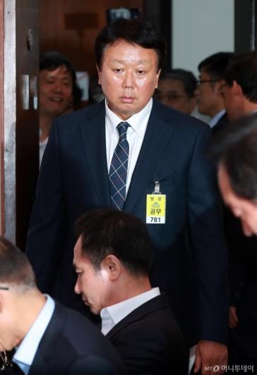 [사진]국정감사 출석하는 선동열 감독