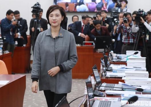 [사진]'유은혜 인정 못해' 퇴장한 자유한국당 의원들