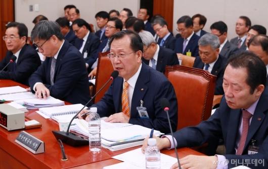 [사진]한국전력공사 등 국정감사