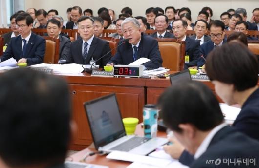[사진]환노위, 근로복지공단 등 6개 기관 국정감사