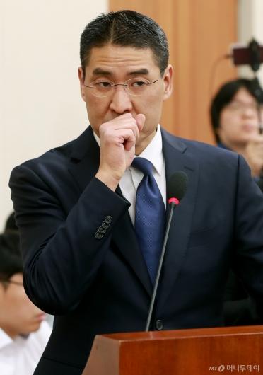 [사진]국감 출석한 존리 구글코리아 대표