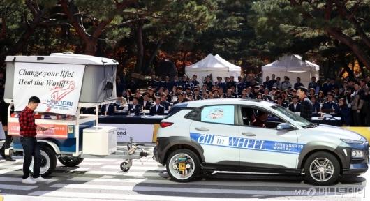 [사진]'자동차 휠로 만나는 친환경 구현'