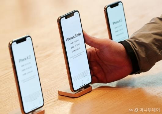 [사진]'애플 신형 아이폰 가격은?'