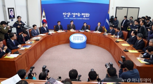 [사진]예산안 심사 앞두고 고위 당·정·청 회동