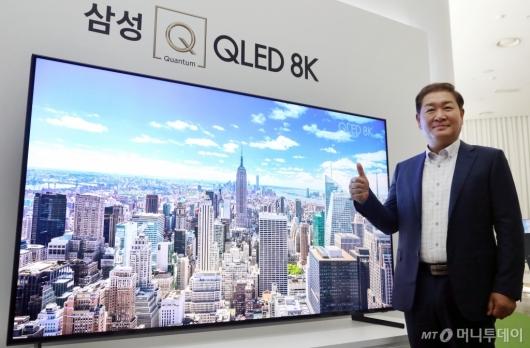 [사진]삼성전자, 퀀텀닷 기술 적용된 'OLED 8K' 출시
