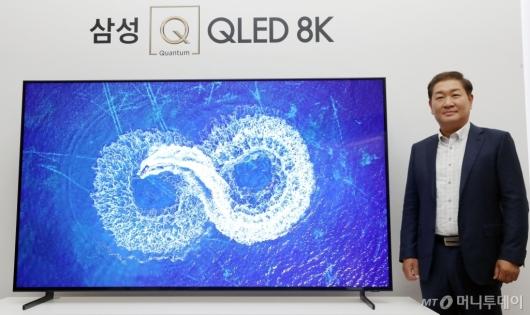 [사진]삼성전자, 4K 보다 4배 더 선명한 'OLED 8K' TV 출시