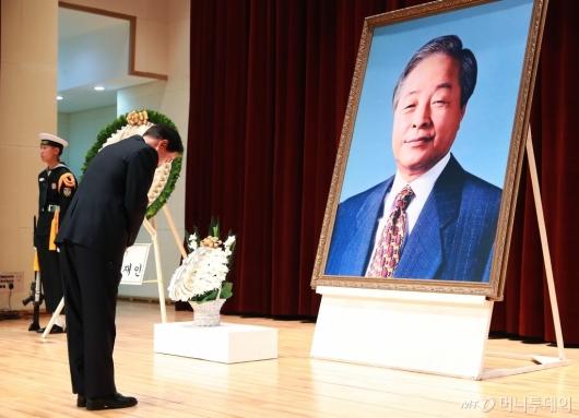 [사진]김영삼 전 대통령 서거 3주기 추모식