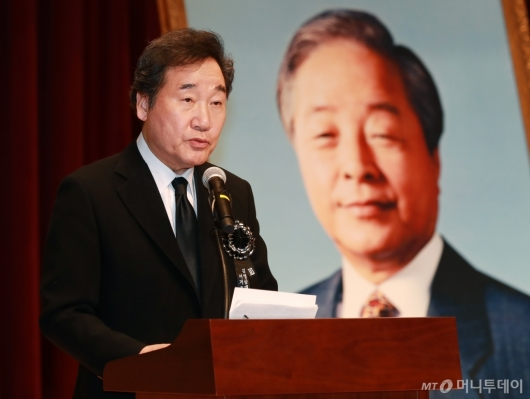 [사진]이낙연 총리, 김영삼 서거 3주기 추모식 참석