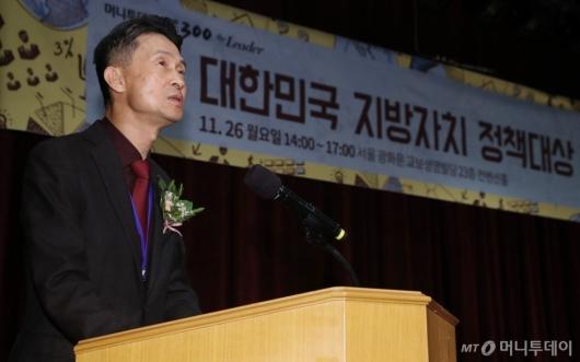 [사진]개회사하는 박종면 대표