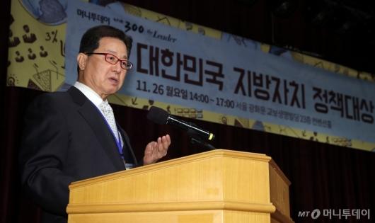 [사진]심사평하는 이달곤 전 장관