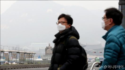 [사진]미세먼지로 답답한 서울