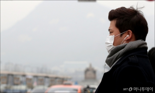 [사진]'맑은 공기는 언제쯤'