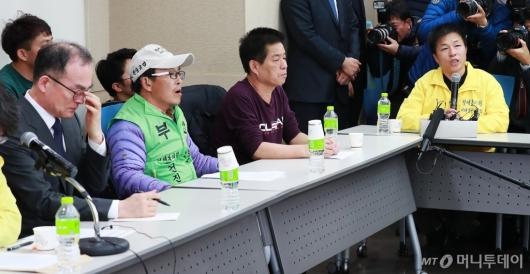 [사진]형제복지원 증언들으며 울먹이는 문무일 검찰총장