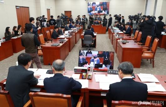 [사진]공개 진행되는 '유치원 3법' 논의 법안소위