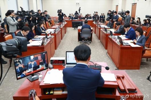 [사진]'유치원 3법' 교육위 법안소위 공개 심사