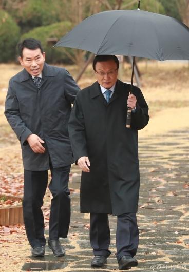 [사진]초월회 참석하는 이해찬 민주당 대표