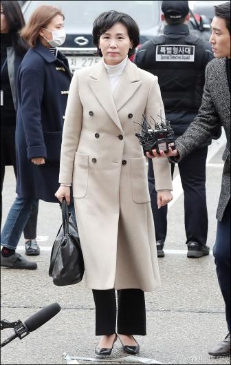 [사진]검찰 출석한 이재명 경기지사 부인 김혜경씨