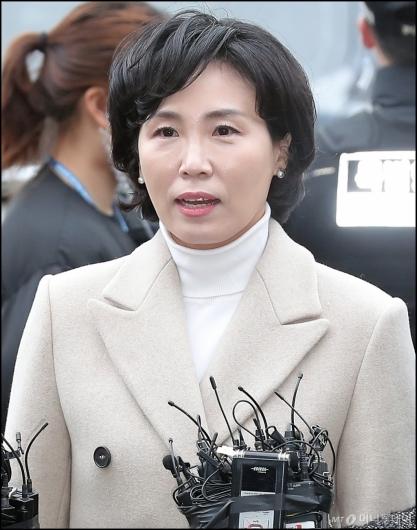 [사진]검찰 출석한 김혜경씨