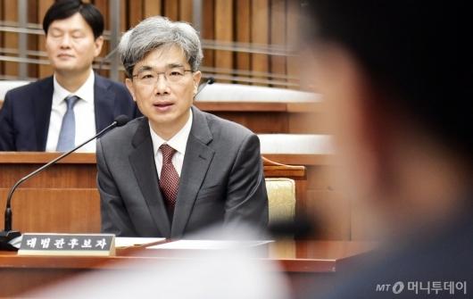 [사진]김상환 대법관 후보자 인사청문회