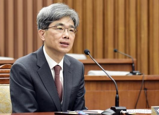 [사진]인사청문회 출석한 김상환 대법관 후보자