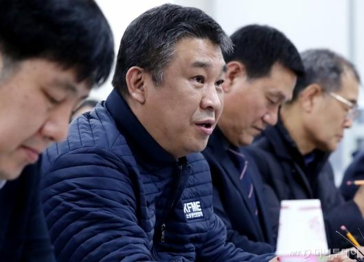 [사진]발언하는 최승재 소상공인연합회장