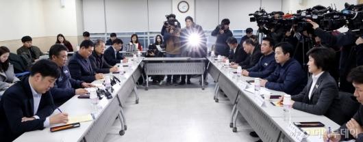 [사진]소상공인연합회 만난 홍종학 장관