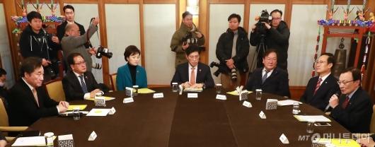[사진]'예산안-안전사고' 고위 당·정·청 개최