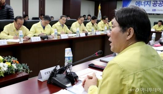 [사진]안전사고 심각성 알리는 성윤모 장관