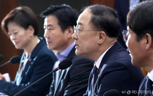 [사진]홍남기, 첫 경제활력 대책회의 모두발언