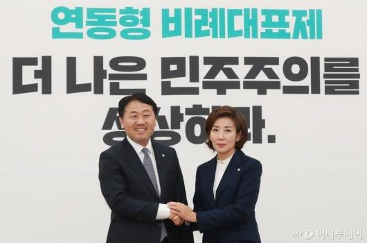 [사진]김관영 찾은 나경원