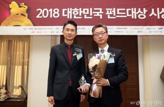 [사진]이지스자산운용, 올해의 혁신펀드 공모부문 수상