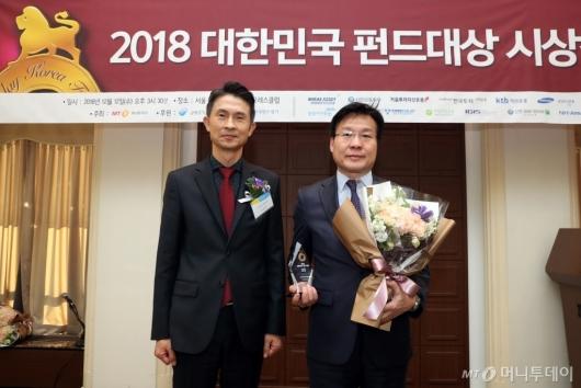 [사진]신한BNP파리바자산운용, 올해의 혁신펀드 공모부문 수상