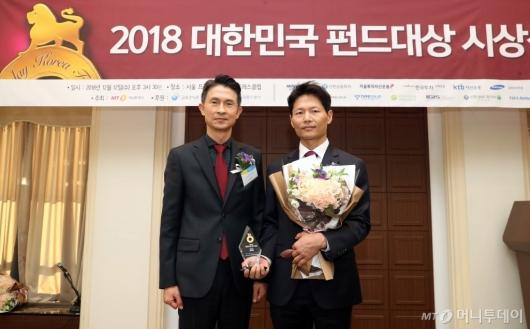 [사진]NH-아문디자산운용, 올해의 혁신펀드 공모부문 수상