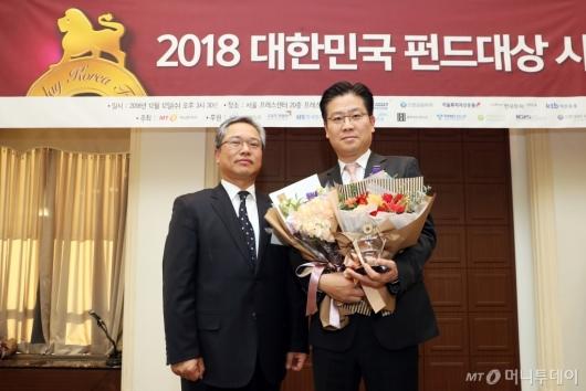 [사진]한국투자신탁운용, 해외부문 베스트 ETF 수상