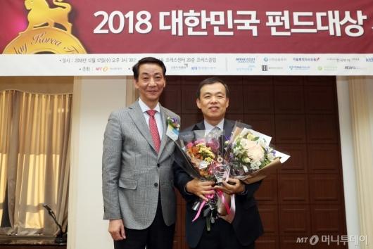 [사진] KB자산운용, 국내 주식형부문 베스트펀드 수상