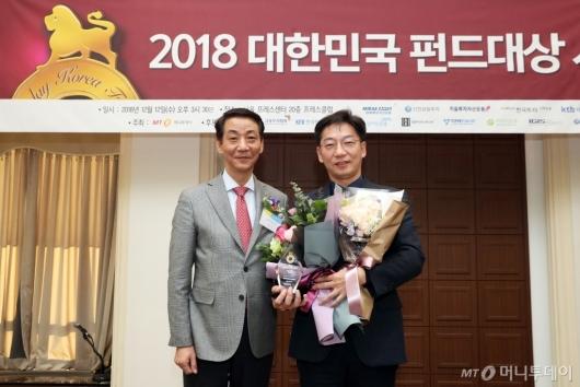 [사진]동양자산운용, 국내 채권형부문 베스트펀드 수상