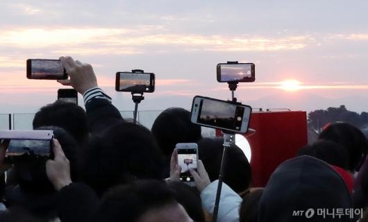 [사진]기해년 첫 일출을 담아라!