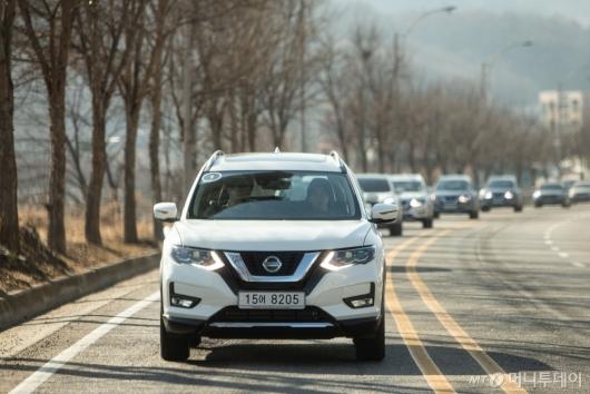 [시승기]닛산 대표 SUV '엑스트레일'…패밀리카로 제격
