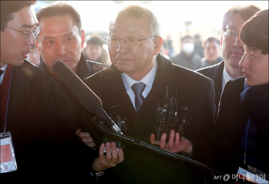 [사진]'묵묵부답' 양승태 전 대법원장