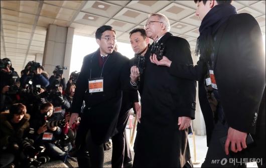 [사진]'사법농단' 양승태, 검찰 소환