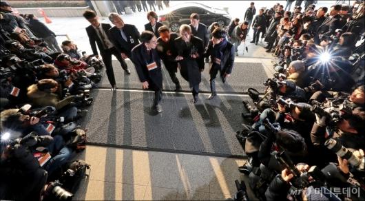 [사진]'사법농단' 양승태, 검찰 출석